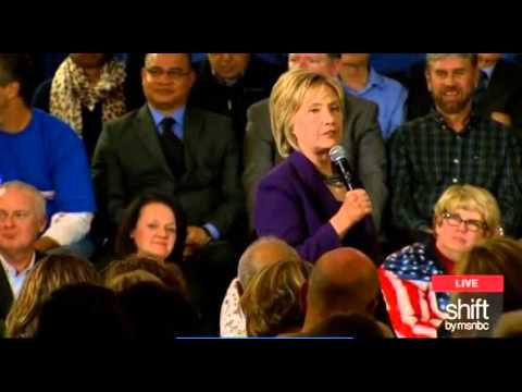 Hillary Clinton Brags About Voting For A Border Fence To Keep Out Illegal Immigrants