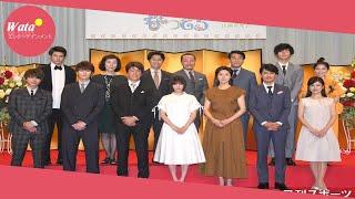 NHKは26日、都内で、女優広瀬すず(19)がヒロインを務める来年...