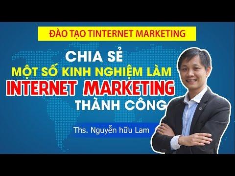 Nguyễn Hữu Lam đào tạo Internet marketing Online