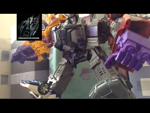 Transformers Stop Motion-[Combiner Wars] Superion vs Menasor Stop Motion