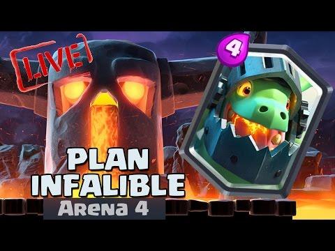 ¡¡PLAN PARA SACAR EL DRAGÓN INFERNAL!! ¿100% garantizado? | Streaming | Clash Royale | TheAlvaro845