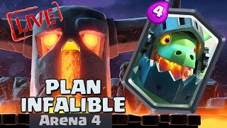 ¡¡PLAN PARA SACAR EL DRAGÓN INFERNAL!! ¿100% garantizado? | Streaming | Clash Royale | TheAlvaro845