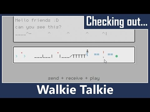 Walkie Talkie, a Platformer Chat Room (LD37)