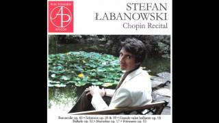 Frédéric Chopin, Grande valse brillante in E flat major Op. 18, Stefan Łabanowski, piano