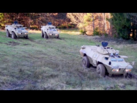 M1117 Guardian Armored Security Vehicle (ASV) Training