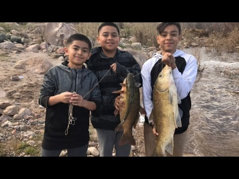 Upper Salt River Fishing 2017