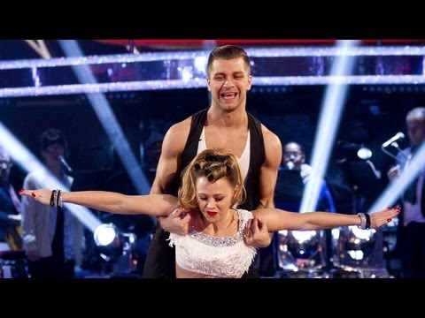 Kimberley Walsh & Pasha Kovalev Jive to 'Land of 1000 Dances' - Strictly Come Dancing 2012 - BBC One