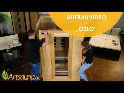 Infrarotkabine Oslo [Aufbauvideo] | Artsauna ☀