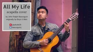 all my life - acapella cover // k-ci and jojo