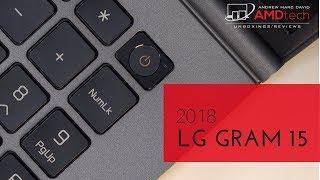 LG gram 15 (2018) Review:  The World
