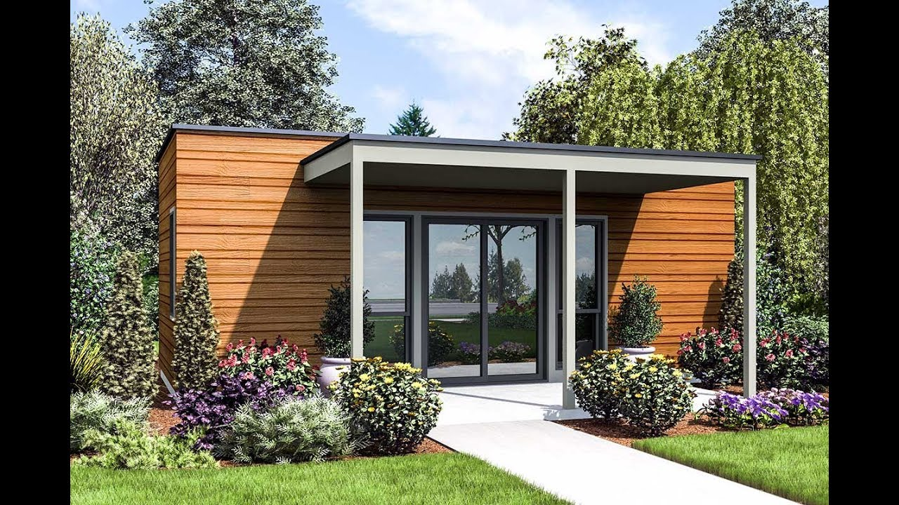 Architectural designs modern tiny house plan 69660am 360 view