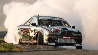850HP Turbo V8 BMW M5 E39 Drift Car -  That's How Clouds Are Made!