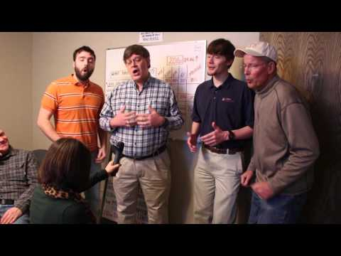 Chord Rustlers Surprise Serenade at Townsquare Media Live On Air