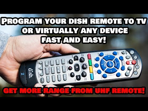 Quickly Program Your Dish Network Remote Control to ANY DEVICE