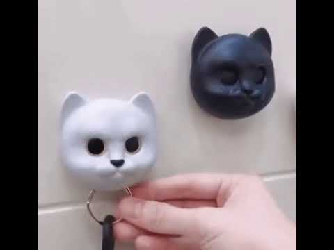 Night Owl Magnetic Wall Key Holder Youtube