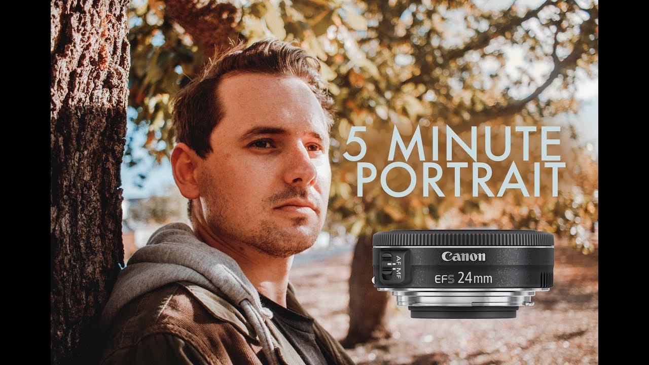 Ana Maria Polvorosa Hot 5 minute natural light portrait shoot (canon 24mm ef-s pancake lens)