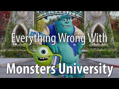 Everything Wrong With Monsters University In 15 Minutes Or Less