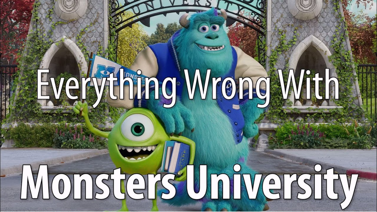 Everything wrong with monsters university in 15 minutes or less everything wrong with monsters university in 15 minutes or less youtube voltagebd Image collections