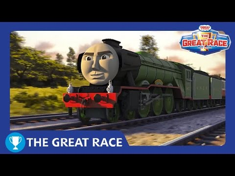 The Great Race: The Flying Scotsman   The Great Race Railway Show   Thomas & Friends