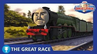 The Great Race: The Flying Scotsman | The Great Race Railway Show | Thomas & Friends