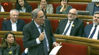 "Torra reconoce a Rivera la ""decencia"" de dimitir"