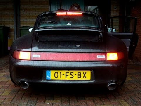 Porsche 993 Carrera S: Tunnels, Revs, Accelerations And More!