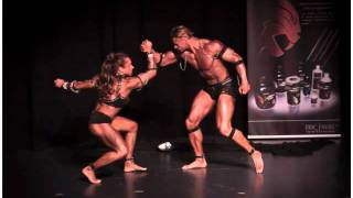 karen felix stphane pelloquin body building posing couple le15 mai 2010  epalinges suisse avi