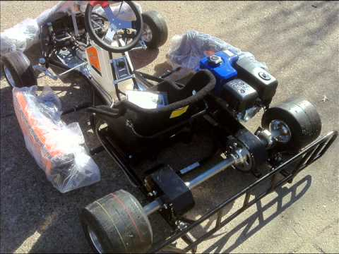 Go Kart Dallas >> Honda Clone Racing GO Karts for SALE - YouTube