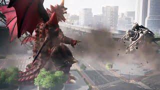GODZILLA - Monsters Gameplay (PS4)