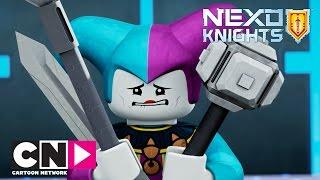 NEXO Knights | Failed Comedy Act | Cartoon Network