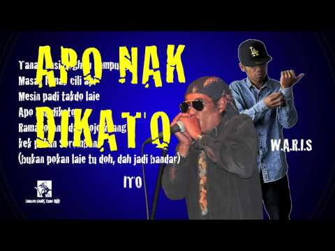 ITO feat. W.A.R.I.S - Apo Nak DiKato 2014 - Official Lyric Video