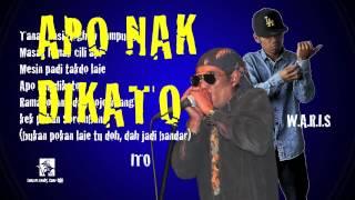 ITO feat. W.A.R.I.S - Apo Nak DiKato 2014 - Official Lyric Video