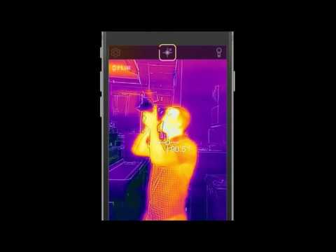 How to use the FLIR ONE Thermal Imaging Camera