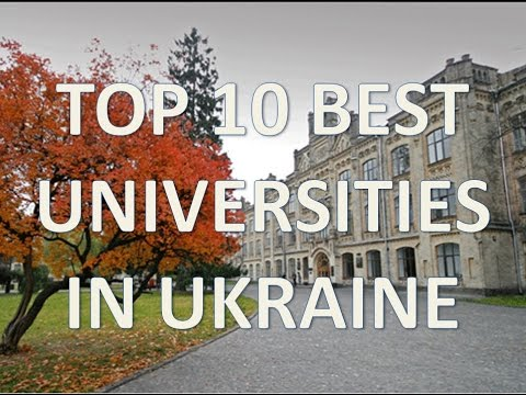 Top 10 Best Universities In Ukraine/Top 10 Mejores Universidades De Ucrania