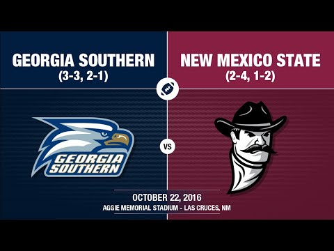2016 Week 8 - Georgia Southern at New Mexico State