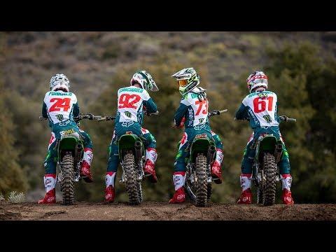 2019 Monster Energy Pro Circuit Kawasaki BTS Video Shoot