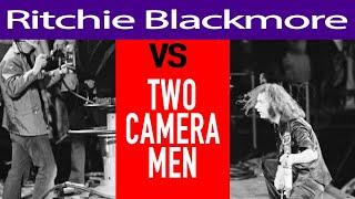 Ritchie Blackmore ATTACKS  Cameramen - the full story