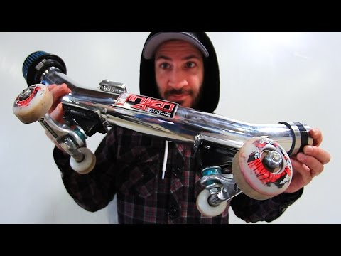 SKATING A CHROMED OUT COLD AIR INTAKE! | SKATE EVERYTHING EP 49
