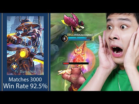 Rahasia Top Global YSS 3000 Match, 92% Winrate (RRQ Bless)