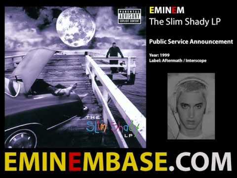 Eminem  Public Service Announcement