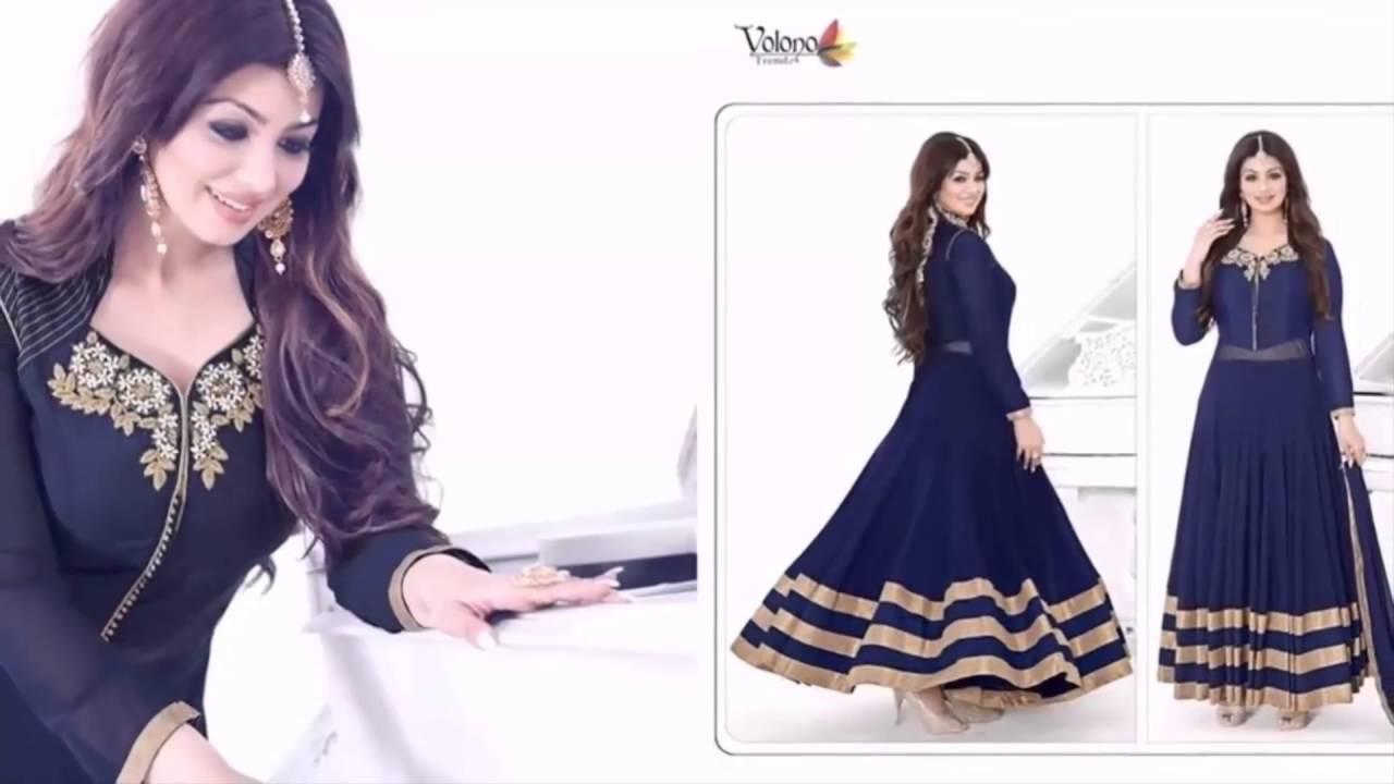 8c65eecb47 Latest Fashion Jacket Style Anarkali Salwar Suits EID Collection 2016 |  latest fashion collec - YouTube