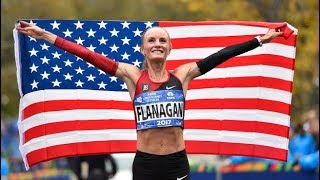 Shalane Flanagan wins women's New York City Marathon