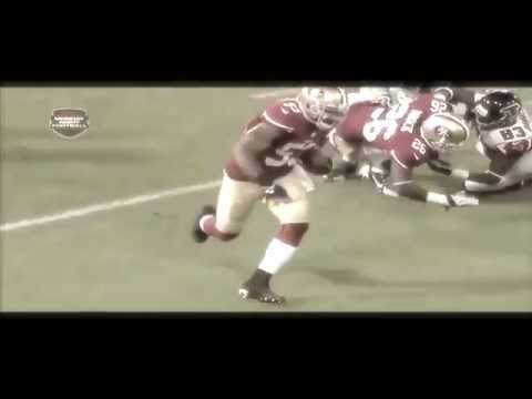 49ERS NaVorro Bowman INT For TD Against Falcons