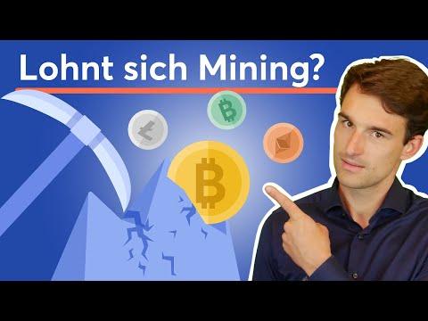 Bitcoin Mining: Lohnt es sich noch? Wie funktioniert das Schürfen von Kryptowährungen?