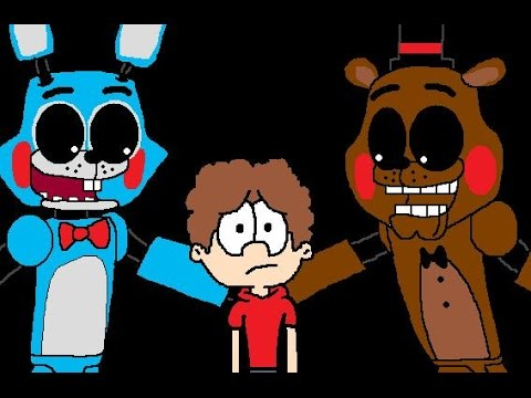 CRINGE!  Five Nights At Freddy's 2 Survive the night animation
