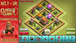Best base Clash of Clans LEVEL 5 STRATEGY New Town Hall Defence Speed Build 2014