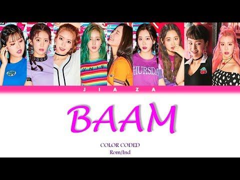 MOMOLAND 'BAAM' (Sub Indo) Lirik {Color Coded-Rom-Ind}