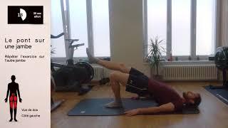 Renforcement musculaire (niveau 5 sur 5)