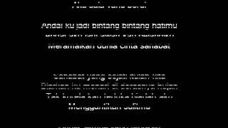 Bintang Dihati ost  Dancing in The Rain by Melly G lirik