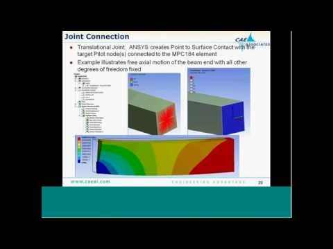 Building Better Boundary Conditions | ANSYS e-Learning | CAE Associates